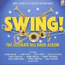 CD de musique album en big band, swing