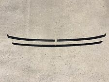 1978 - 1988 G-Body NEW T-Top Front and Rear Roof Finish Trim Molding Black