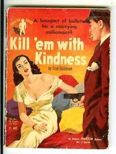 KILL 'EM WITH KINDNESS, rare Aust Phantom crime noir gga digest pulp vintage pb