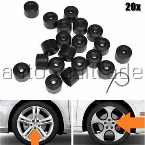 20 PCS 17mm Wheel Nut Lug Bolt Covers Caps For VW Passat Golf Polo Tiguan Jetta