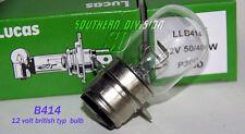 Phares Ampoule Lampe Bulb 12v 50/40w British pre Focus bsa triumph Norton