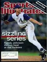 SPORTS ILLUSTRATED NOVEMBER 5 2001 RANDY JOHNSON