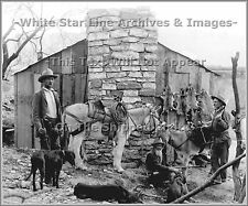 Photo: Old West: Trappers & Hunters, Az Territory, 1898