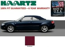 Audi A4 Convertible Soft Top With Heated Glass window Bordeaux German A5 Canvas