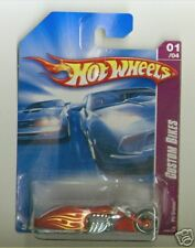 Hot Wheels 2008 149 Team Custom Bikes Pit Cruiser Red