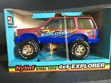 NEW Vintage 1994 Nylint Ford 4x4 Explorer with Dog - Steel Toy, No. 6836, USA