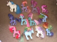 Vintage Hasbro My Little Pony Bundle x 12 poupées G1 1983 1997 2010 Lot