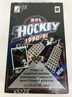1990-1991 Upper Deck Hockey Box Unopened Factory Sealed Low Series