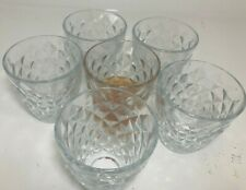 Set of 6 Wine Whiskey Champagne Glass lead-free Crystal Diamond Glass Christmas