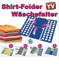 Wäschefalter Wäschefaltbrett Faltbrett Hemdenfalter Falthilfe Shirts Hemden