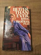 Better Than Ever by Joyce Brothers Ph.D. (1977, PB)