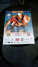 Australia v Wales World Cup Semi Final 2000 with Ticket Programme