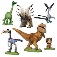 Good Dinosaur 6 Piece Figure Play Set Ages 3+ Toy Cake Topper Arlo Spot Butch