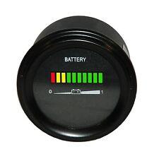 Multi voltage forklift or golf cart battery indicator
