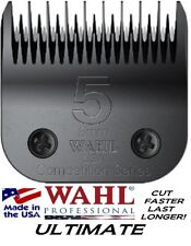 WAHL ULTIMATE COMPETITION Pet Grooming 5 SKIP BLADE*FitMost Oster,Andis Clipper