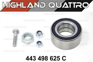 Audi ur quattro / coupe / 80 / 90 wheel bearing kit (82mm) 443498625C