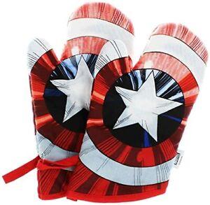 Marvel Captain America Oven Mitts (2 pack)