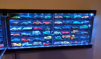 Custom LED 🔥 Hot Wheels 🔥 Premium Car Collector Display Case Gift Toy Storage