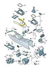 NEW Genuine Audi Q5 Centre Console Brushed Aluminium Trim Cover 8R0863305M1NK !!