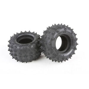 Tamiya Super Champ/Frog/Hornet/Fighting Buggy, 9805034/19805034 Rear Tyres/Tires