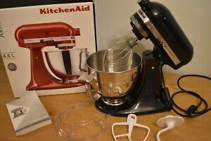 Kitchenaid 5KSM150PSBCV Caviar Artisan Stand Mixer - Black, 4.8L NEW Other