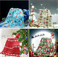 Christmas Machine Washable Bed Blankets