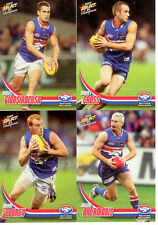 2009 Select AFL Champions Trading Cards Base Team Set Western Bulldogs (12)