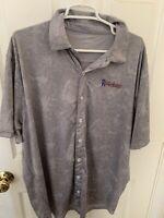 Midland Rockhounds Polo Jersey Size XL