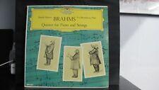 BRAHMS QUINTET FOR PIANO AND STRINGS - DGG LP DGM 12002 JANACEK BERNATHOVA
