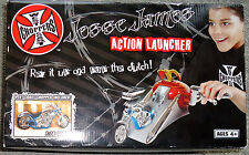 WEST COAST CHOPPERS JESSE JAMES ACTION LAUNCHER MOTORCYCLE 1:18 Ages 4+ 2005