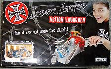 WEST COAST CHOPPERS JESSE JAMES ACTION LAUNCHER MOTORCYCLE 1:18 Ages 4+ 2005