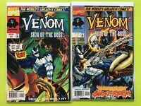 Venom Sign of the Boss #1 2 (1997)  Marvel NM 9.4