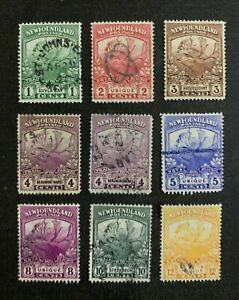Newfoundland Stamps Used