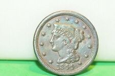 1844 US 1 Cent Type Coin