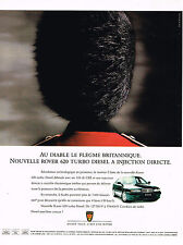 PUBLICITE ADVERTISING 104  1994   ROVER 620 TURBO DIESEL à injéction directe
