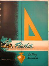 Flintkote ASBESTOS Shingles Siding Catalog 1947