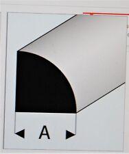 "MAQUETT 402-57/3 Super Styrene 1/4  Round Rod 3.50mm / 0.138"" x 330mm / 13""  X5"