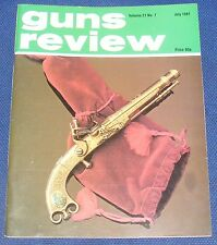 GUNS REVIEW MAGAZINE JULY 1981 - THE ASTRA A80 9MM PISTOL