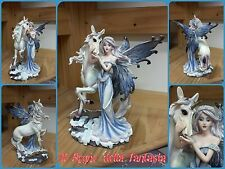 FAIRY WITH UNICORN ELFEN FÈES FATINA CELESTE FATA CON UNICORNO NO LES ALPES