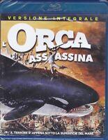 Blu-ray L'ORCA ASSASSINA - KILLER WHALE con Bo Derek nuovo sigillato 1977