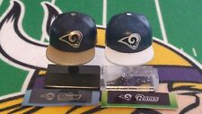 NFL Mad Lids Series 1 & 2 Los Angeles Rams 2-pack (2 mini caps/stands/stickers)