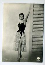 Sophia Loren Film-Foto Autogrammkarte Alte Filmpostkarte 60er Jahre