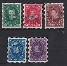 Niederlande 1955 gestempelt MiNr. 667-671
