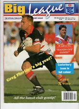 BIG LEAGUE MAGAZINE 75-4 Apr 1993 Canterbury Bulldogs poster North Sydney Bears
