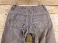 BKE Tyler Pants Mens 30X (30x35) Extra Long Boot Cut Taupe Chino Khakis