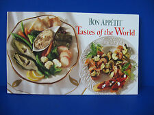 BON APPETIT  Tastes of the World 1996 Softcover Recipe Book