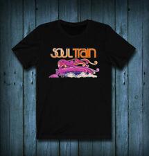 New Soul Train Band Logo Black T-Shirt Cotton #Saf