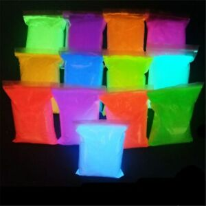 Glow In The Dark Acrylic Paint Luminous Pigment Fluorescent Powder