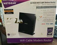 Netgear AC1600 Wifi Cable Modem Router C6250  802.11 ac Dual Band Gigabit