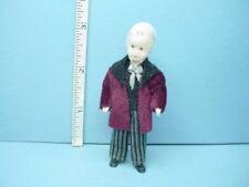 "Miniature Adult Male ""Gustav"" #24815 Handcrafted Dollhouse Doll Erna Meyer"